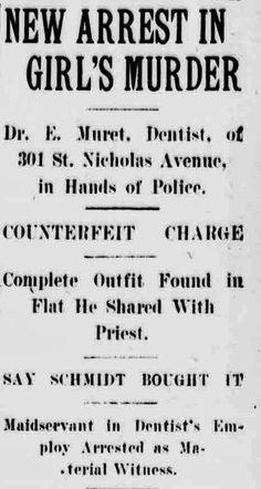 Thriller Thursday - New Arrest in Girl's Murder #genealogy #familyhistory
