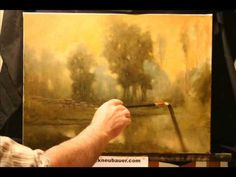 "How to oil paint video shown in three parts the recreation of modern day master Richard Schmid's ""Atlantic Sentinel"". Time lapsed shows start to finish techn..."