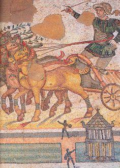 Римская и византийская мозаика - Мозаики палестры Villa Romana del Casale, Сицилия