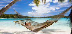 Relax on a beach in the Caribbean #caribbean #beach