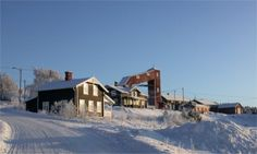 City of Folldal, a former mining town from the 1700s until the last mine-related operations in 1993. Hedmark, Norway