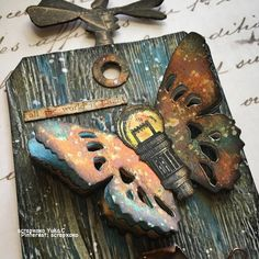 Timholtz tattered butterfly - Scrapbook.com