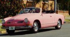 1972 Pink Convertable Karmann Ghia