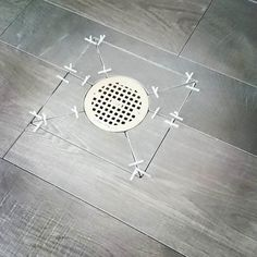 Pin on Home Remodeling Smelly Bathroom, Bathroom Drain, Shower Drain, Shower Floor, Bathroom Tile Installation, Bathroom Flooring, Kitchen Flooring, Bathroom Design Software, Bathroom Tile Designs