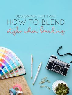 Our branding process and a look into meshing two distinct styles into one brand. | Designing for Two: How to Blend Styles When Branding | Think Creative Collective: