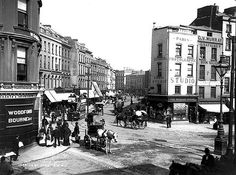 Patrick Street, Cork from Daunt's Square by National Library of Ireland on The Commons, via Flickr