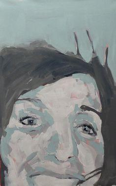 W.DECHANT - 5.9.2014 - 62 x 89 cm - acrylic / canvas - NEXT TOMORROW