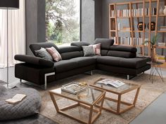Imagem do site:  www.chateau-dax.pt Acertar no modelo do sofá para sua sala de estar ou TV, faz toda a diferença na decoração. Sofás modernos com apelo futurístico estão ganhando espaço no mundo do design e arquitetura.
