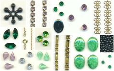 100 new items hit the site this morning, including Swarovski crystals, brass chain, vintage stones, and much more! #jewelrysupplies