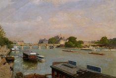 Luigi Loir, Paris, île de la cité on ArtStack #luigi-loir #art