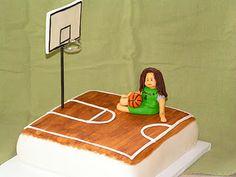Basketball cake for my daughter.