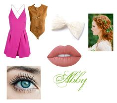 """""""Older Abby"""" by eviehartleytull on Polyvore featuring beauty, Topshop, Pierre Cardin and Lime Crime"""