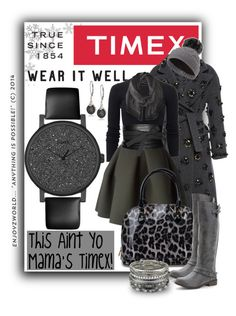 Timex Contest Entry: How will you #WearItWell this holiday season? #1 by enjoyzworld on Polyvore featuring polyvore, fashion, style, Michael Kors, Aquilano.Rimondi, Kenzo, Madden Girl, Timex, Accessorize, Badgley Mischka, Givenchy, Maison Margiela, Sweaty Betty, Trilogy, clothing, timex and WearItWell