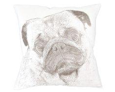 Pug Decorative Pillow