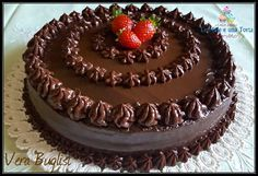 Cake Decorating For Beginners, Creative Cake Decorating, Creative Cakes, Cake Recipes At Home, Oreo Cake Recipes, Dessert Recipes, Chocolate Garnishes, Chocolate Desserts, Cake Chocolate