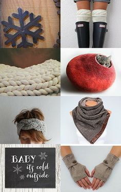 Baby it's cold outside by Dana Shinhorn on Etsy--Pinned with TreasuryPin.com