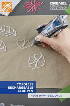 Diy Crafts Easy At Home, Crafts For Kids, Dremel Tool Projects, Diy Craft Projects, Glue Gun Crafts, Craft Supplies, Paint Supplies, Clever Gadgets, Hobbies And Crafts