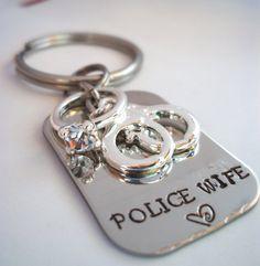 Police Wife LEO Wife Army Wife Marine Wife by StampedbyShaye, $22.00