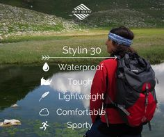 The 'Stylin' Waterproof Backpack is great for everyday use or extreme adventures helping you never worry about water again!