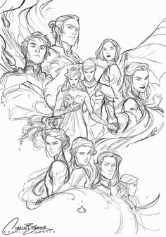 Artist: Charlie Bowater-WIP