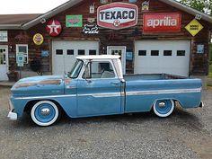 Chevrolet : C-10 Custom 1965 Chevy C10 Pickup Rat - http://www.legendaryfinds.com/chevrolet-c-10-custom-1965-chevy-c10-pickup-rat/