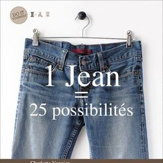 25 possibilités de customiser jean et T-shirt par Charlotte Vannier aux éditions Tutti frutti
