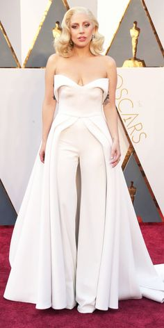 2016 Oscars Red Carpet Photos - Lady Gaga - from InStyle.com
