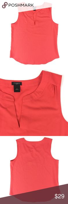"""Ann Taylor Top Perfect for summer! Brightly colored Ann Taylor Top made of polyester + 8% spandex with a length of 26"""" and bust of 39"""". Like-new condition. Retail $59.50. Ann Taylor Tops"""