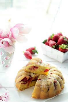 Torta sofficissima alle fragole
