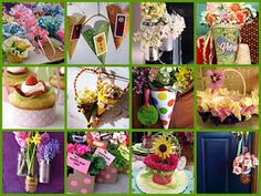 Do you remember May Day with a May Basket...fun ideas!