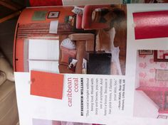 Caribbean coral paint for a room! From HGTV magazine