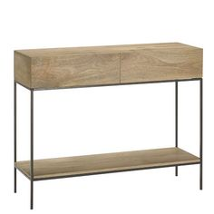 Rustic Storage Console // West Elm