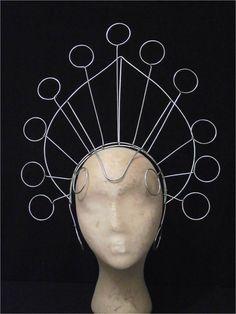 Samba Carnival Showgirl Headdress Frame Large Circles | eBay