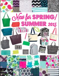 Thirty-One New for spring/summer 2015