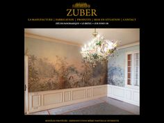 ZUBER - Mise en situation Silk Wallpaper, Grisaille, Decoration, Gallery Wall, Deco Wall, Wall Art, Screens, Frame, Painting