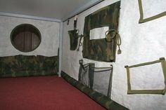 Vojenský bunkr pro děti na přání / Zboží prodejce bara S | Fler.cz Oversized Mirror, Furniture, Home Decor, Decoration Home, Room Decor, Home Furnishings, Arredamento, Interior Decorating