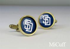 San Diego Padres cuff links