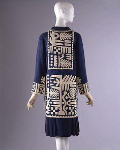 Ensemble | Mariska Karasz | American | 1927 | silk | Metropolitan Museum of Art | Accession Number: 1977.284.2a, b