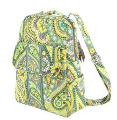 Vera Bradley Backpack in Lemon Parfait Vera Bradley. $88.96