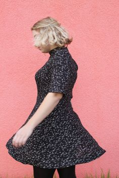 Hannah's Martha dress - sewing pattern by Tilly and the Buttons