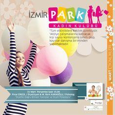 Yaz yaklaşıyor ve halâ fazlalıklarınızdan kurtulamadınız mı? Dert etmeyin. Diyetisyen Pınar Ergül & Psikolog M. Berk KARAOĞLU'nun katılımıyla gerçekleşecek olan ''Diyette Doğru Bilinen Yanlışlar ve Diyet Psikolojisi'' etkinliği yarın saat 15.00'te İzmir Park Kadın Kulübü'nde! Katılım ücretsizdir.