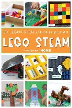 Lego Projects, Projects For Kids, Stem Activities, Learning Activities, Used Legos, Stem Science, Lego Brick, Science And Technology, Homeschool