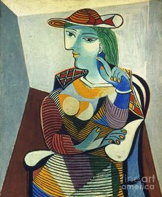Picasso Reprints | Picasso: Marie-therese Photograph