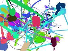 Pour les artistes en herbe, à vos souris pour créer votre propre Jackson Pollock !  http://www.jacksonpollock.org/