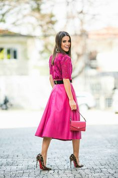 SPFW DIA 5 – Look TOTAL PINK