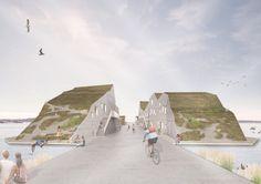 L'architecte Rahel Belatchew Lerdell a dessiné un quartier flottant qu'elle souhaite désormais imprimer.