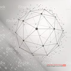 Wire frame mesh polygonal element royalty free stockvectorbeelden