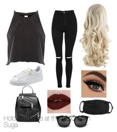 """Bts inspired outfits"" by rachelullmann03 on Polyvore featuring River Island, Topshop, Marc Jacobs and Prada"