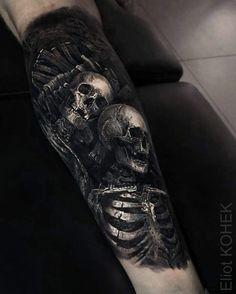 Tatuagens realistas que vão impressionar você Forearm Cover Up Tattoos, Cover Up Tattoos For Men, Black Tattoo Cover Up, Full Arm Tattoos, Forarm Tattoos, Back Tattoos For Guys, Dope Tattoos, Body Art Tattoos, Hand Tattoos