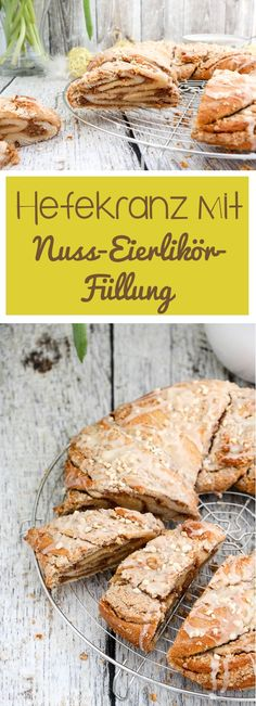 Easy Cake : At Easter, yeast biscuits are simply a must, that& why I have this year for me . Yeast Biscuits, Scandinavian Food, Easy Cake Decorating, Strudel, Fabulous Foods, Easter Recipes, Bread Baking, Yummy Cakes, No Bake Cake